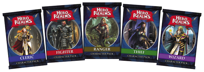 Hero Realms: Fighter Pack (display 12) Box Front