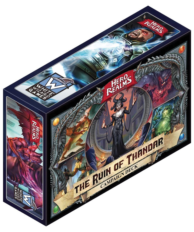 Hero Realms: The Ruin Of Thandar - Campaign Deck (display 6) Box Front