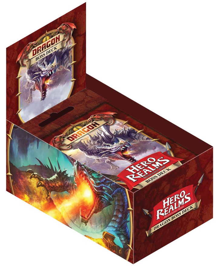 Hero Realms: Dragon Boss Deck (display 6) Box Front