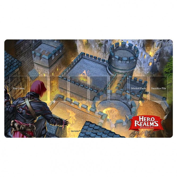 Hero Realms: Playmat - Fire Bomb Game Box