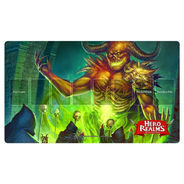 Hero Realms: Playmat - Tyrannor Game Box