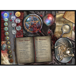 Sorcerer: Extra Player Board - Standard Art Game Box