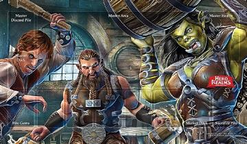 Hero Realms: Enthralled Regulars Campaign Playmat