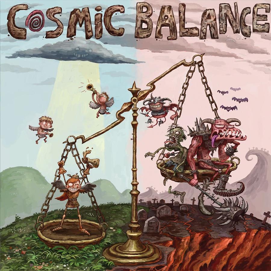 Cosmic Balance  Box Front