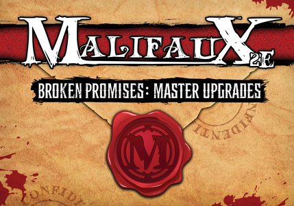 Malifaux: Broken Promises Upgrade Deck Box Front