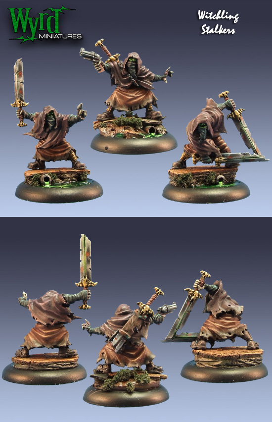 Malifaux: Guild Witchling Stalker Box Front