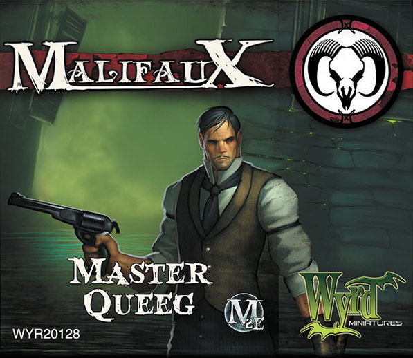 Malifaux: Guild Master Queeg Box Front