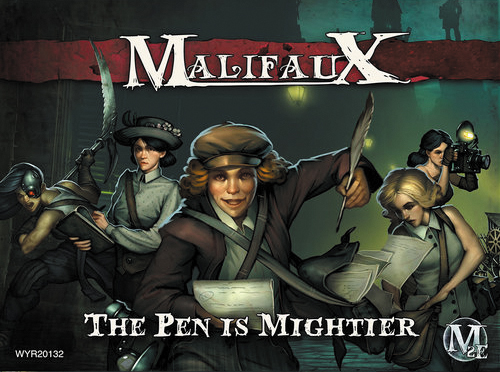 Malifaux: Guild The Pen Is Mightier (nellie) Box Front