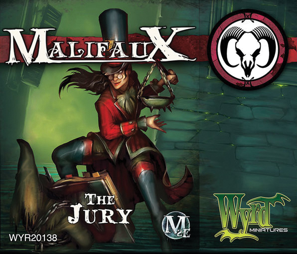 Malifaux: Guild The Jury Box Front