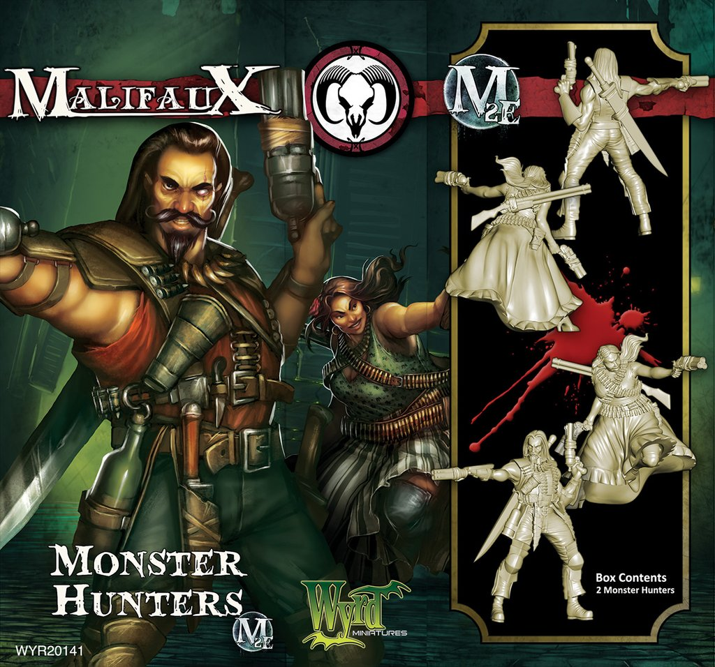 Malifaux: Guild Monster Hunter Game Box