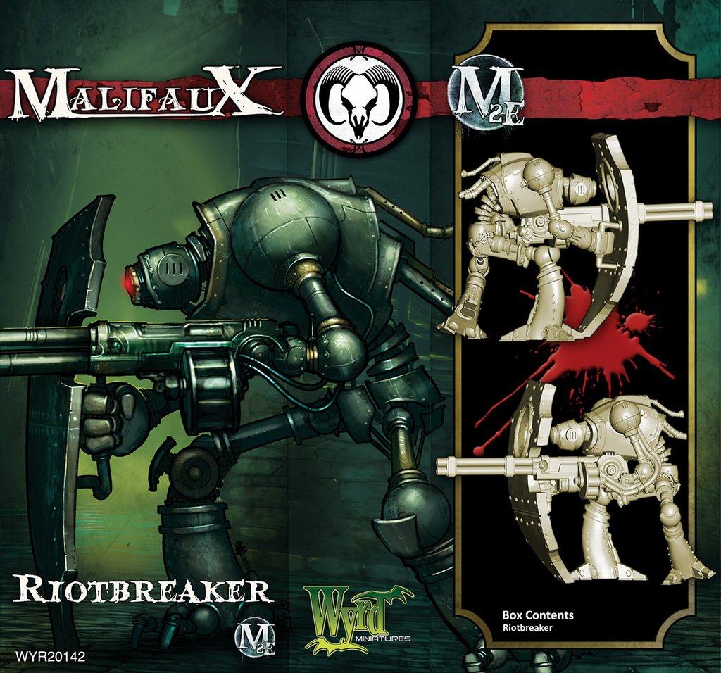 Malifaux: Guild Riotbreaker Game Box