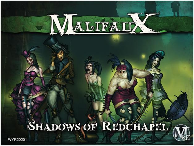 Malifaux: Resurrectionists Shadows Of Redchapel - Seamus Box Set Box Front