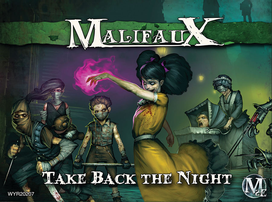 Malifaux: Resurrectionists Take Back The Night - Molly Crew Box Front