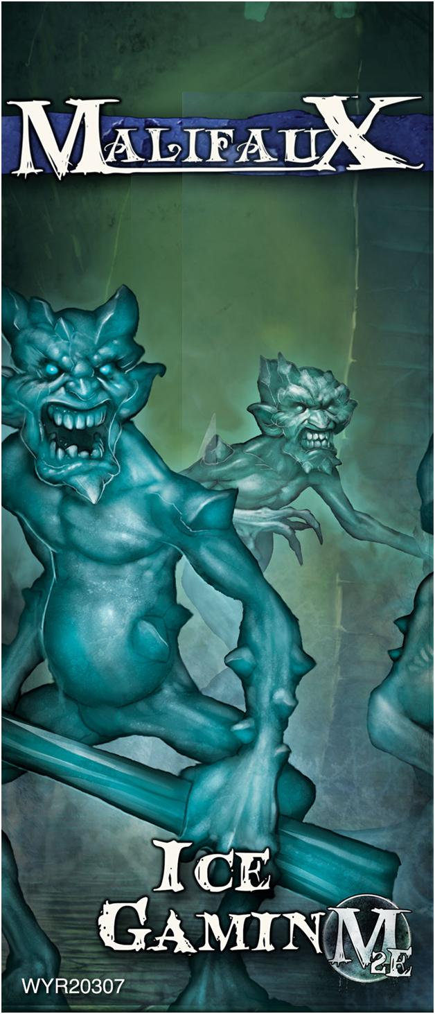 Malifaux: Arcanists Ice Gamin Box Front