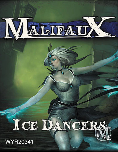Malifaux: Arcanists Ice Dancer (2) Box Front