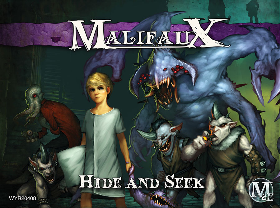 Malifaux: Neverborn Hide And Seek Dreamer Crew Box Front
