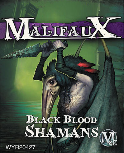 Malifaux: Neverborn Black Blood Shaman Box Front