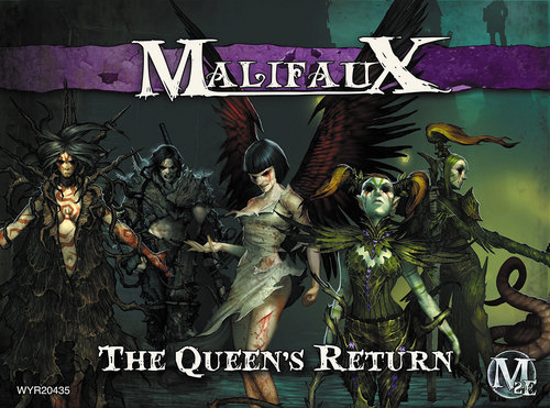 Malifaux: Neverborn The Queens Return (titania) Box Front
