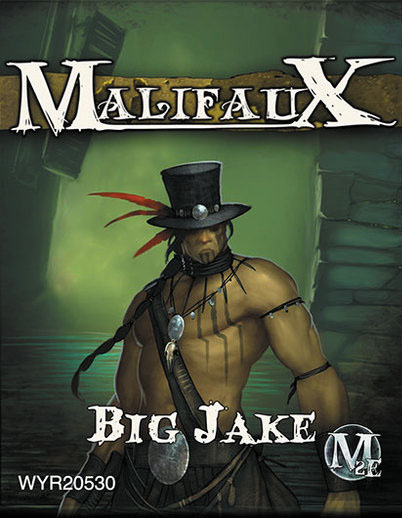 Malifaux: Outcasts Big Jake Box Front