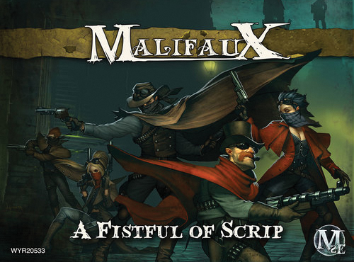 Malifaux: Outcasts A Fistful Of Scrips - Parker Box Front