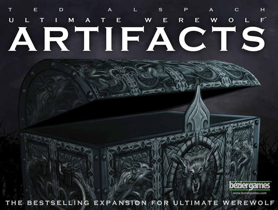 Ultimate Werewolf: Artifacts Expansion Box Front