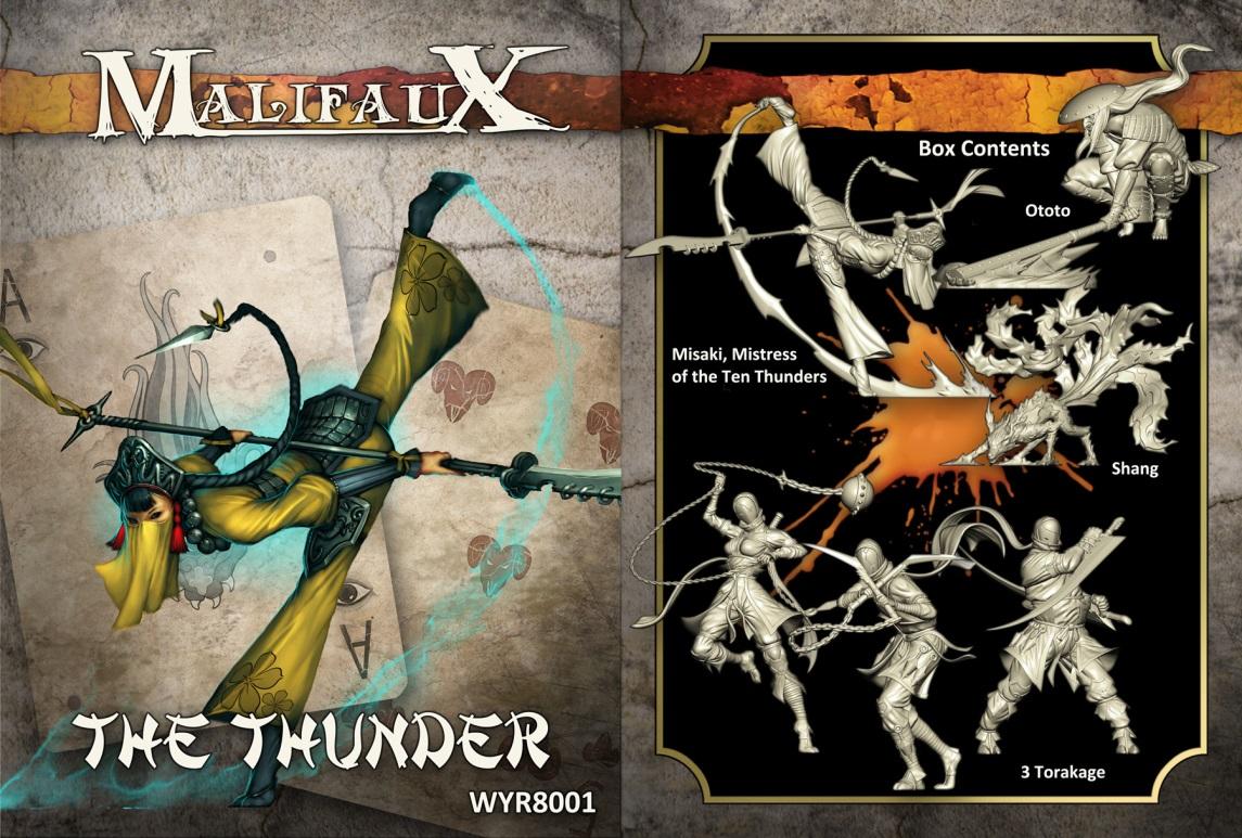 Malifaux: Ten Thunders The Thunder Box Set Box Front