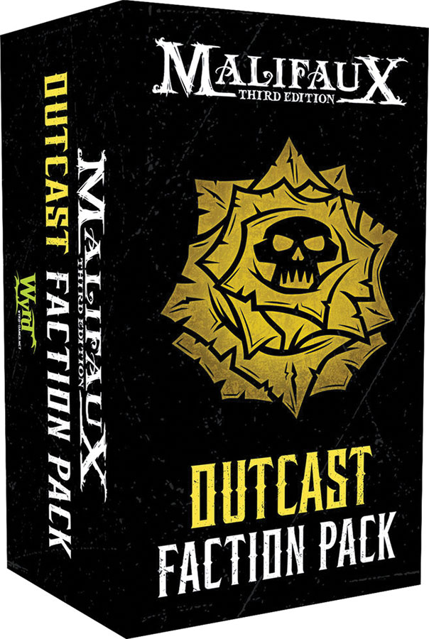 Malifaux 3rd Edition: Outcast Faction Pack Game Box
