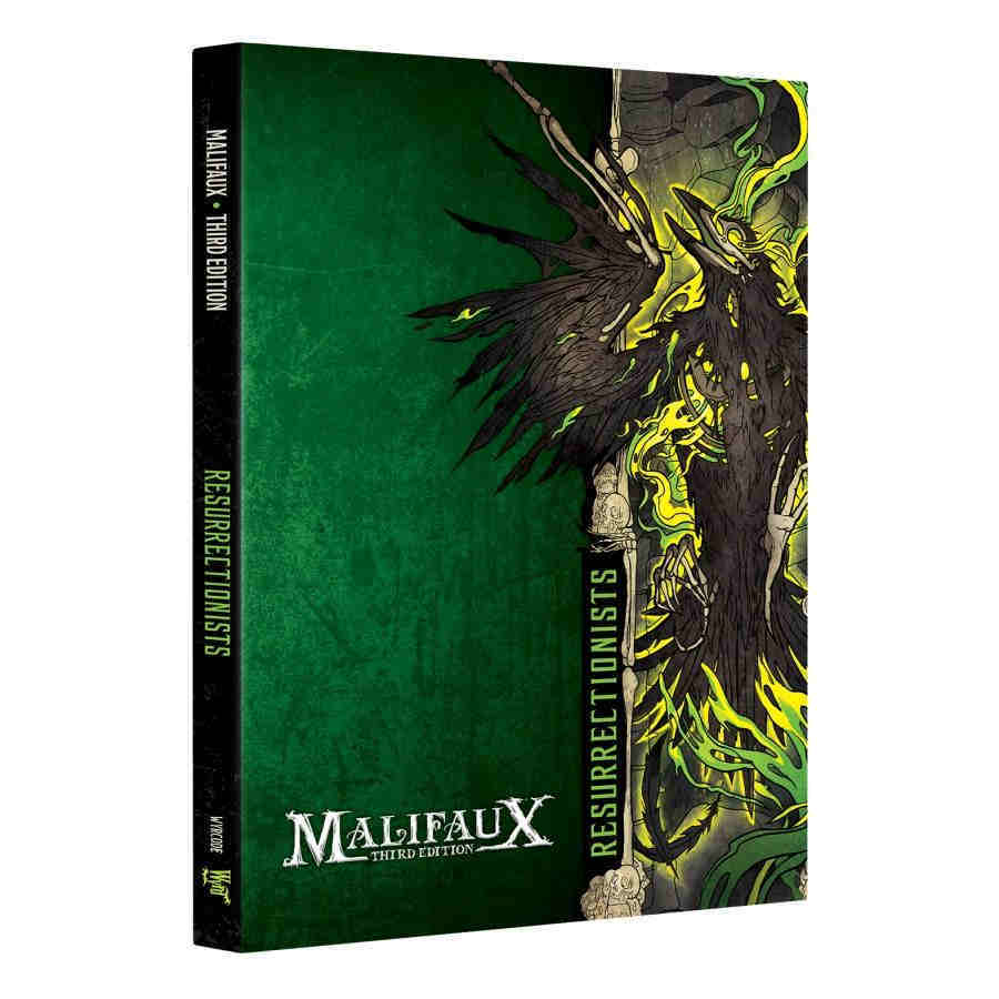 Malifaux 3rd Edition: Resurrectionists Faction Book Game Box