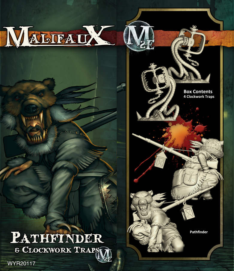 Malifaux: Guild Pathfinder And Clockwork Traps Game Box