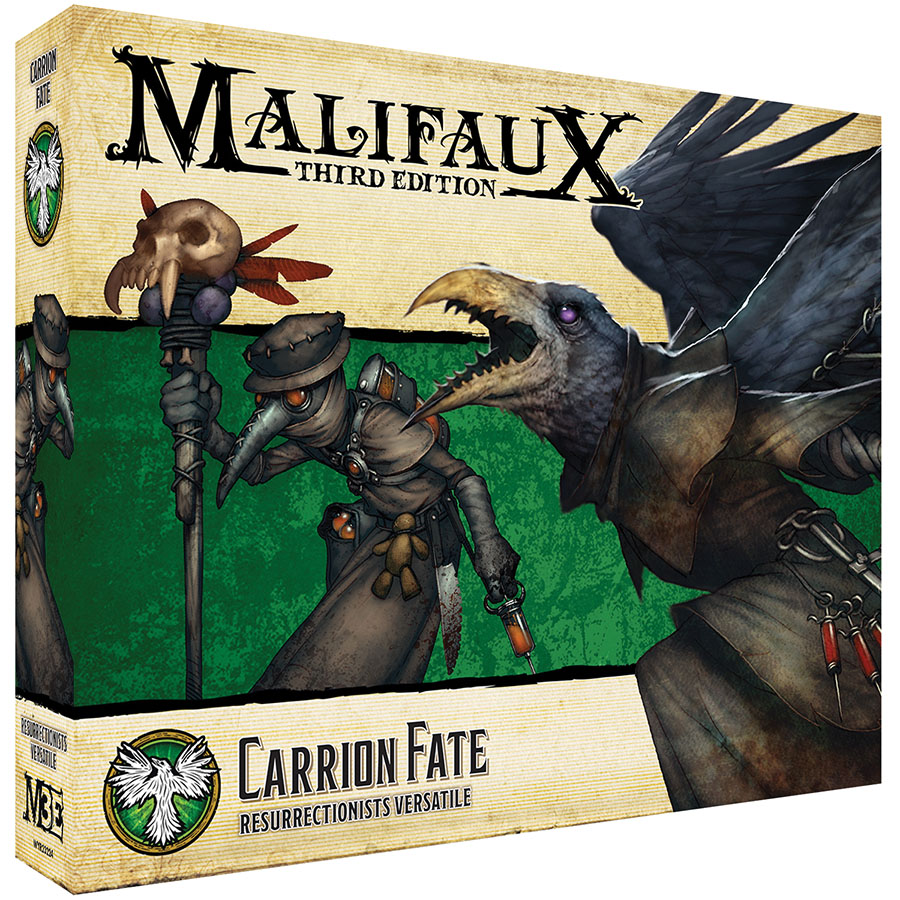 Malifaux: Resurrectionists Carrion Fate Game Box