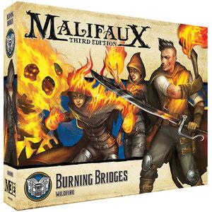 Malifaux: Arcanist Burning Bridges Game Box