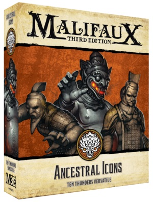 Malifaux: Ten Thunders Ancestral Icons