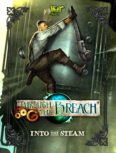Through The Breach Rpg: Into The Steam Box Front