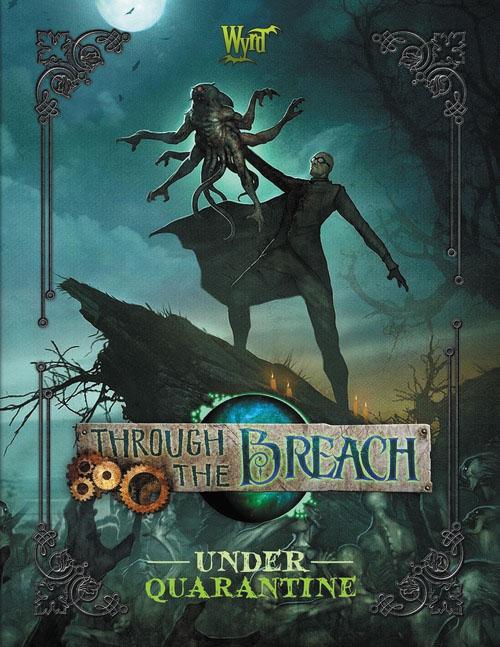 Through The Breach Rpg: Under Quarantine Box Front