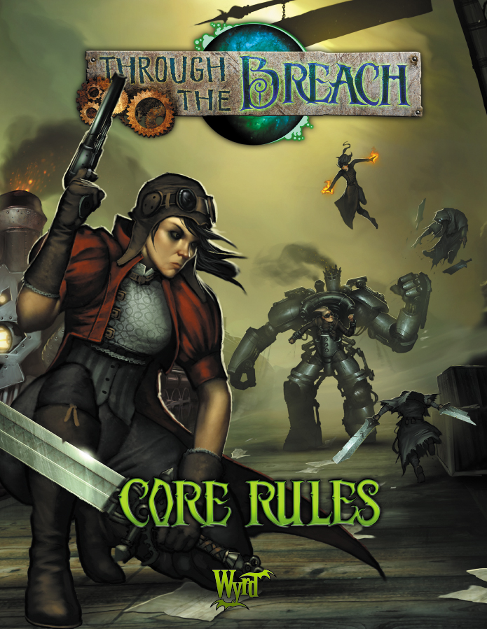 Through The Breach Rpg: Core Rules (second Edition) Box Front