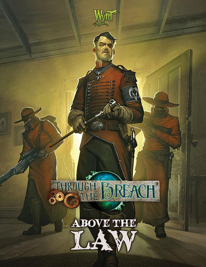 Through The Breach Rpg: Above The Law Game Box