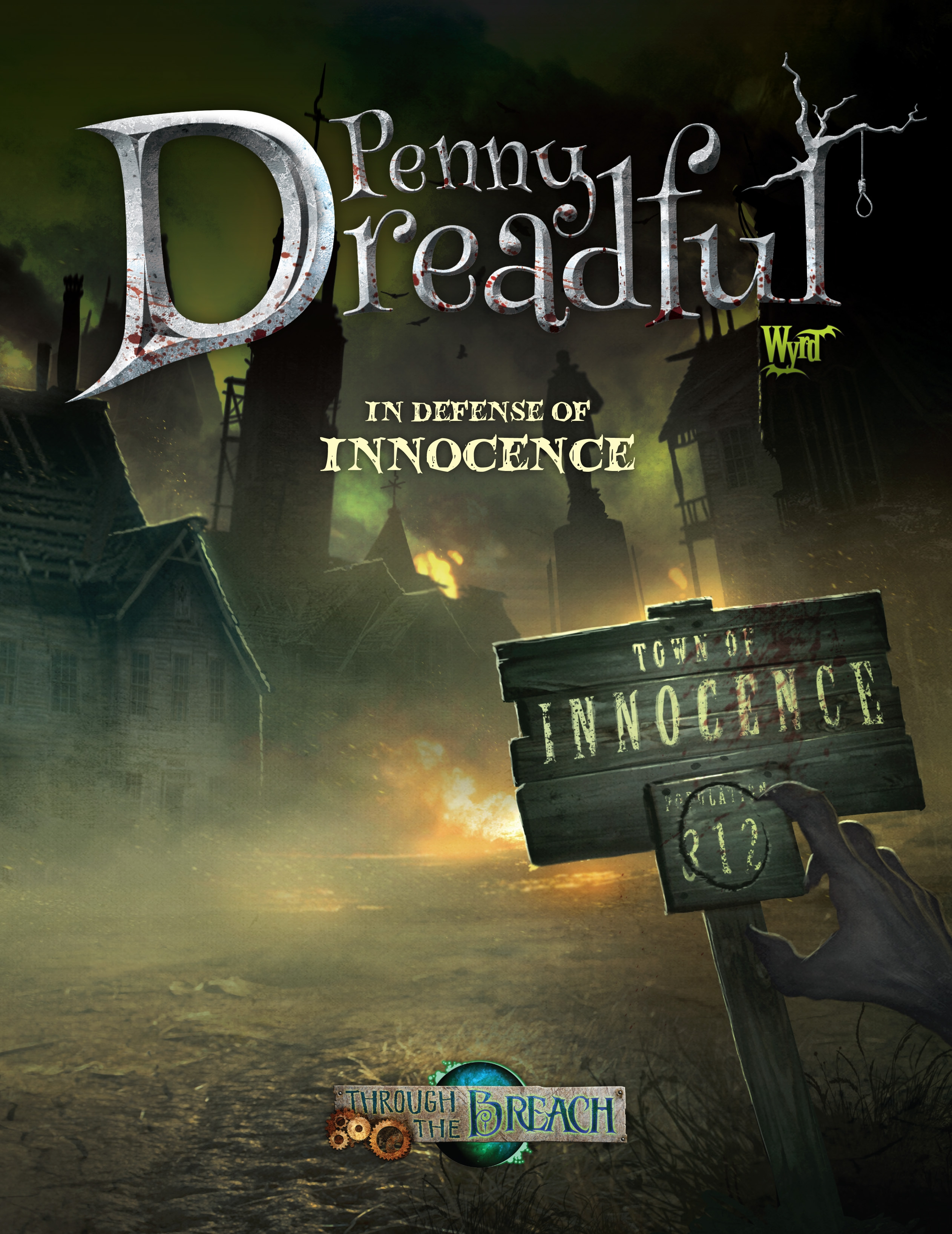 Through The Breach Rpg: Penny Dreadful - In Defense Of Innocence Box Front