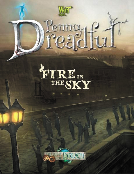 Through The Breach Rpg: Fire In The Sky Box Front