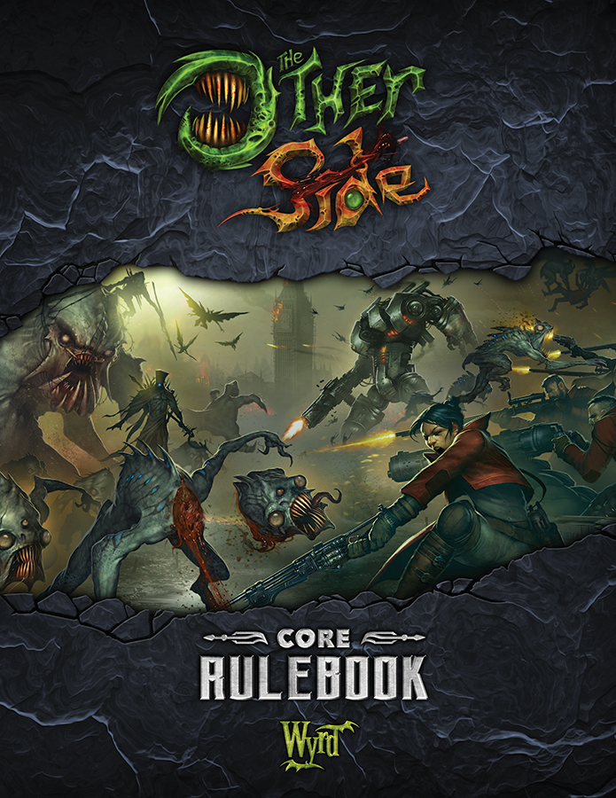 The Other Side: Core Rulebook Box Front