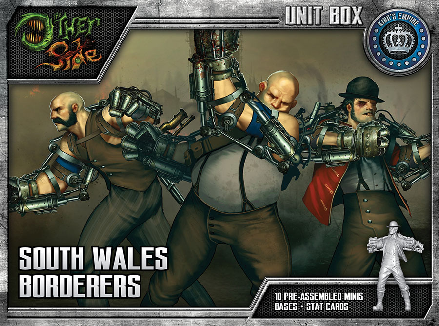 The Other Side: King`s Empire South Wales Borderers Game Box