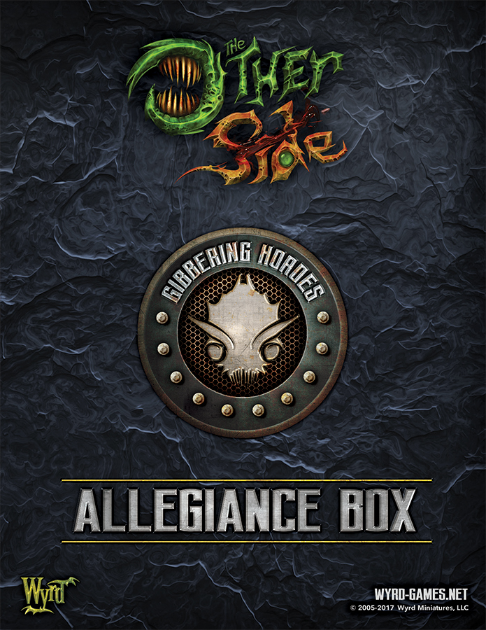 The Other Side: Gibbering Hordes Allegiance Box Box Front