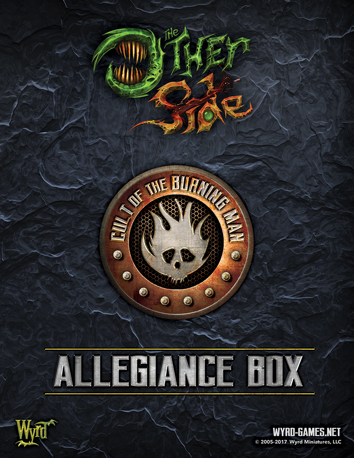The Other Side: Cult Of The Burning Man Allegiance Box Box Front