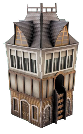 Malifaux: The Tower Box Front