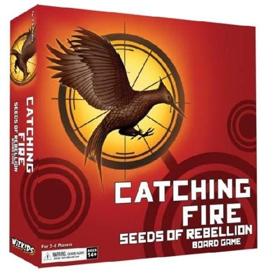 The Hunger Games: Catching Fire Seeds Of Rebellion Board Game Box Front