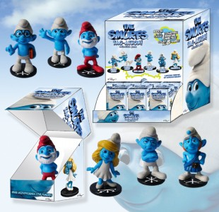 The Smurfs Tag-a-thon Booster Gravity Feed Box Front
