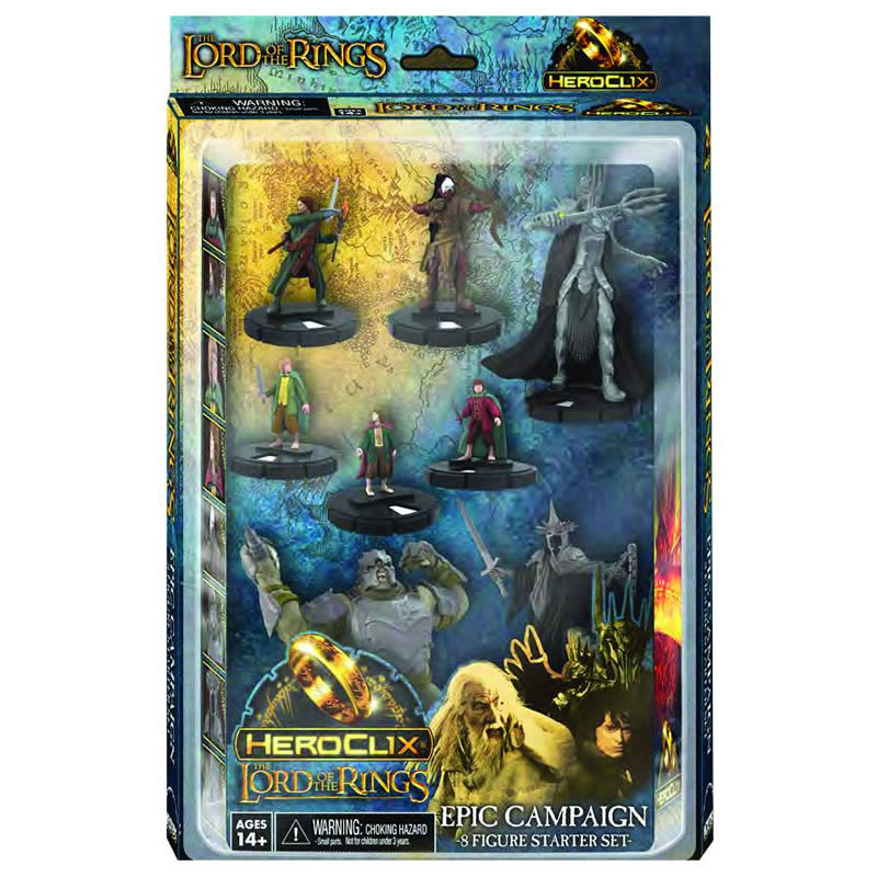 The Lord Of The Rings Heroclix: Campaign Starter Set (reprint) Box Front