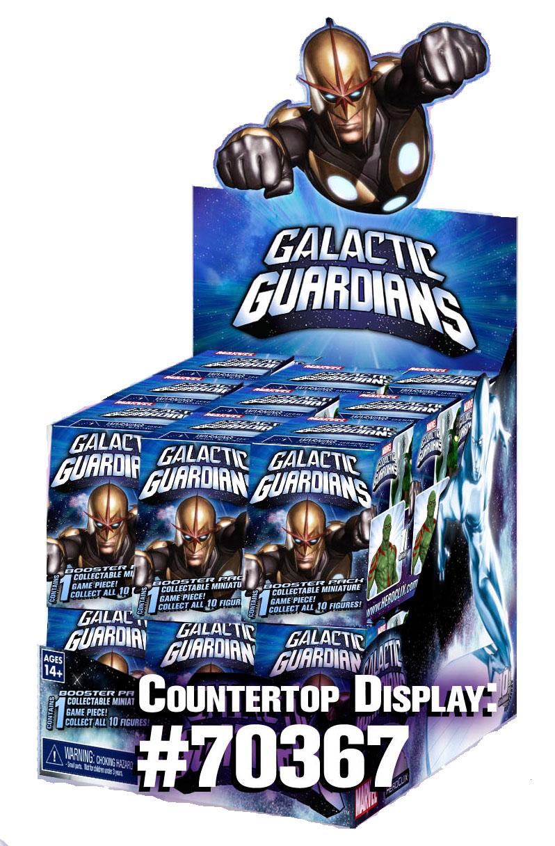 Marvel Heroclix: Galactic Guardians Primer Display (24) Box Front