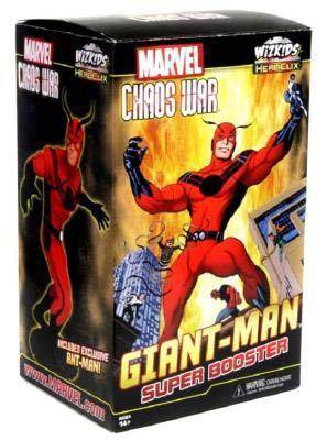 Marvel Heroclix: Giant Man Promotional Figure Box Front