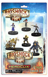 Bioshock Infinite Heroclix: 6-figure Starter Set Box Front