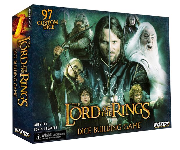 The Lord Of The Rings: Dice Building Game Box Front